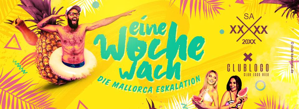 EINE WOCHE WACH