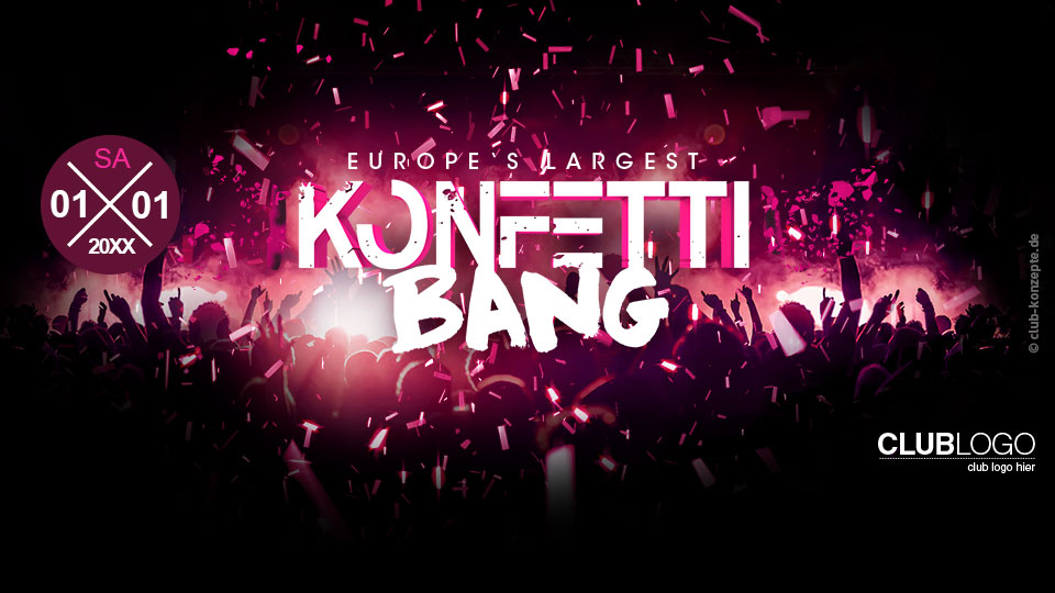 Europe's largest KONFETTI BANG