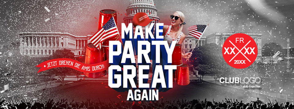 MAKE PARTY GREAT AGAIN