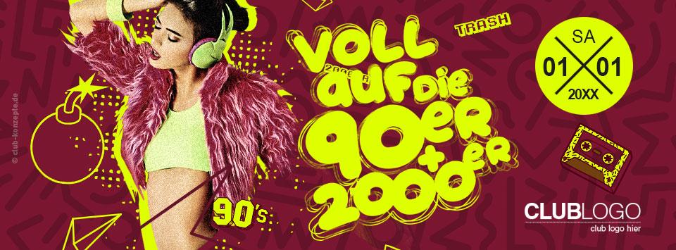 VOLL AUF DIE 90er & 2000er