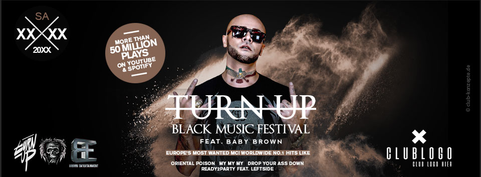 TURN UP - Black Music Festival